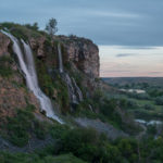 Waterfall fun continues at Ritter Island. Photo Credit: Michael Bonocore.