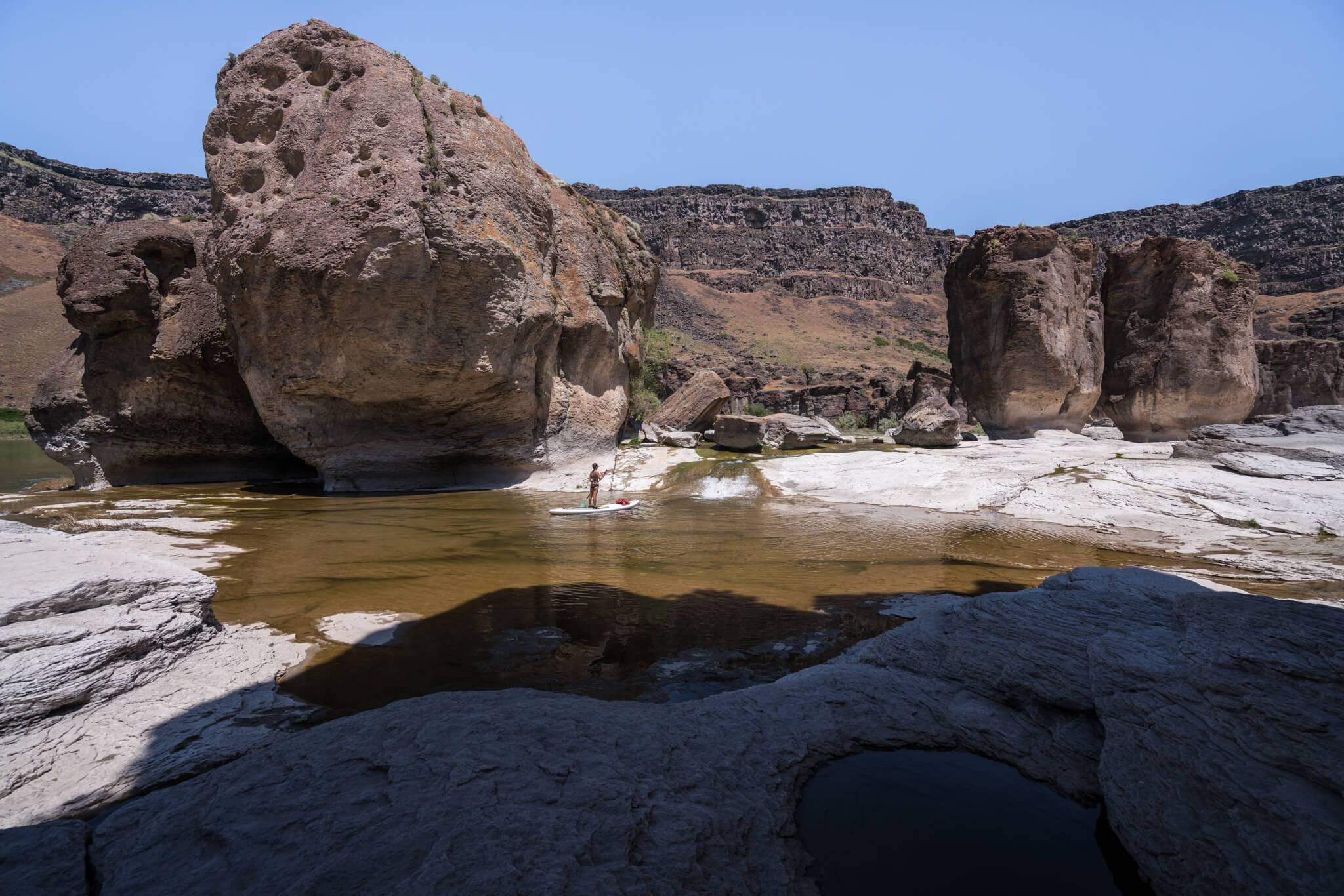 Take a trip to Pillar Falls. Photo Credit: Michael Bonocore.