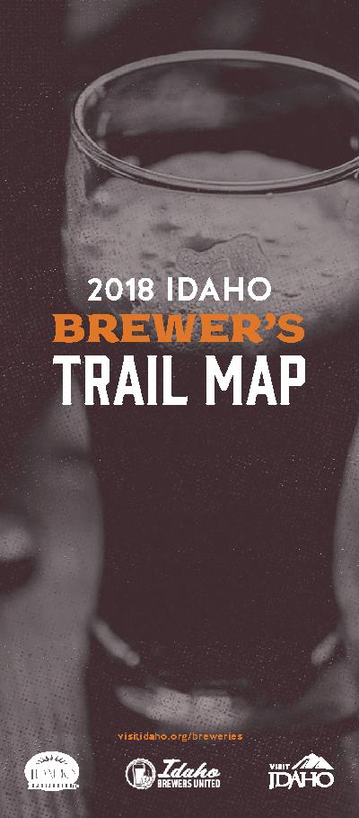 Idaho Brewer's Trail Map