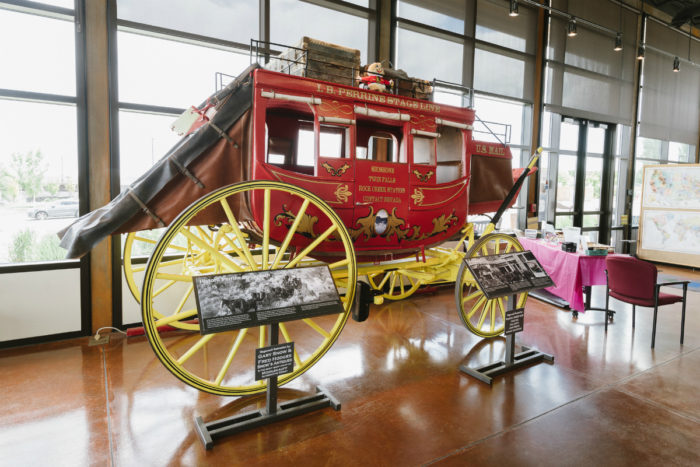 historic stagecoach