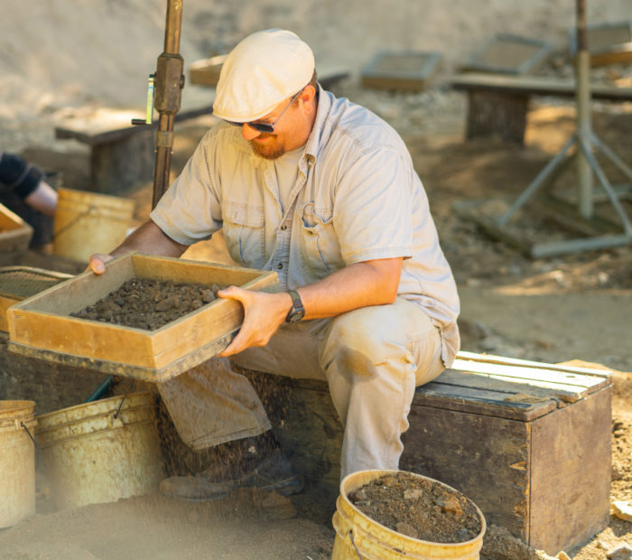 digging at emerald mine