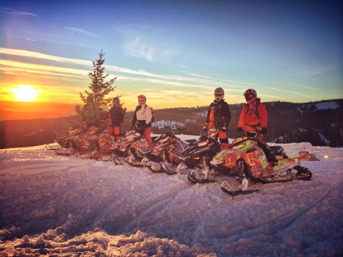 Ride the day away with CM Backcountry Rentals. Photo Credit: Cody Monroe.