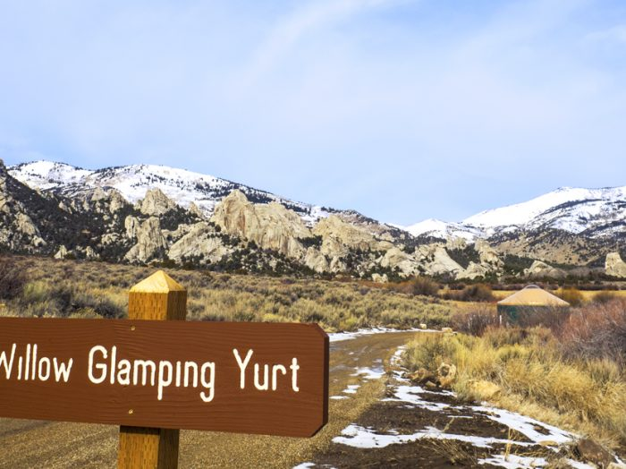 Welcome to your yurt. Photo Credit: Local Freshies.