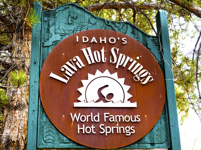 Welcome to Lava Hot Springs. Photo Credit: Local Freshies.