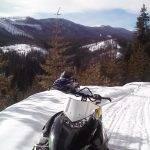 Enjoy the ride with Selkirk Powder Guides. Photo Credit: Sandy Van Deventer.
