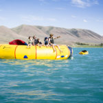 Water Trampoline, Bear Lake State Park, St. Charles. Photo Credit: Idaho Tourism