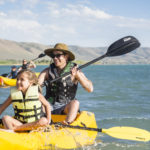 Kayaking, Bear Lake State Park, St. Charles. Photo Credit: Idaho Tourism.