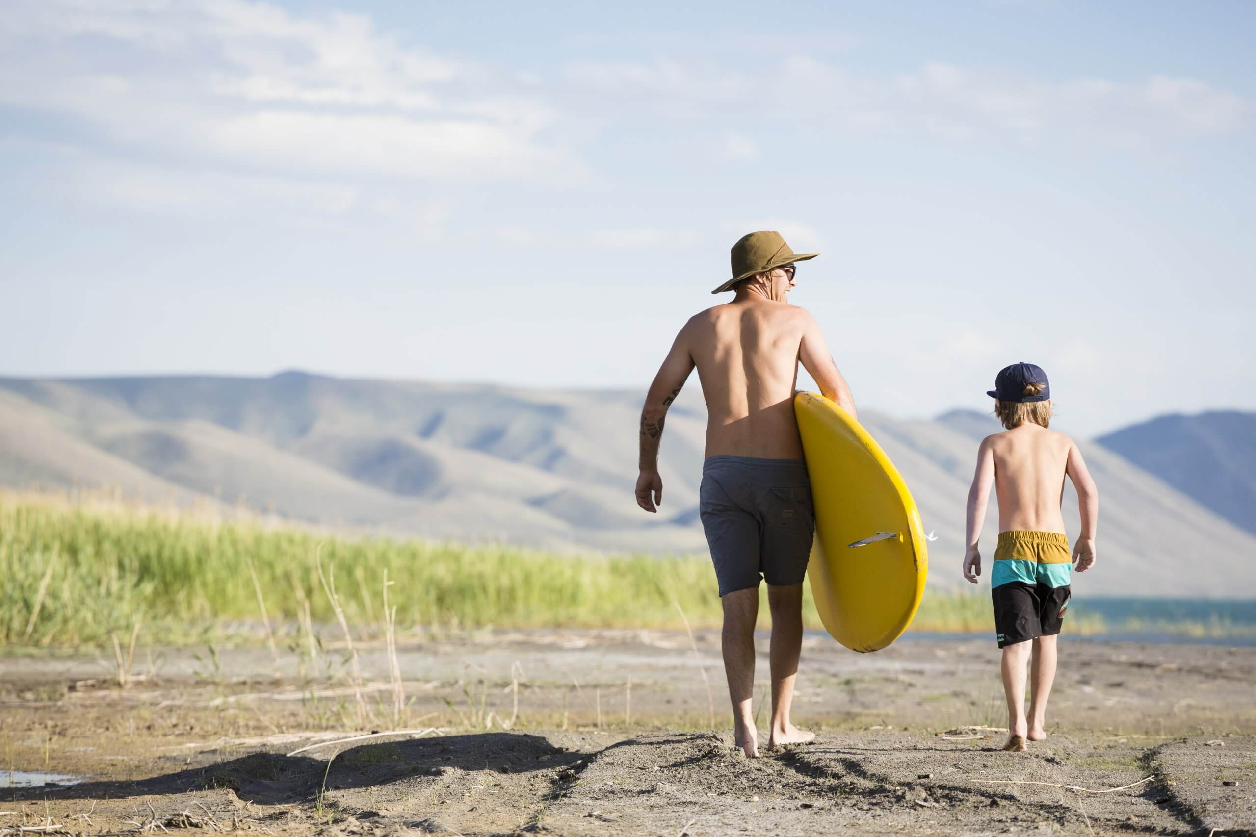 Stand Up Paddle Boarding, Bear Lake State Park, St. Charles. Photo Credit: Idaho Tourism.
