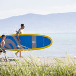 Stand Up Paddle Boarding, Bear Lake State Park, St. Charles. Photo Credit: Idaho Tourism.