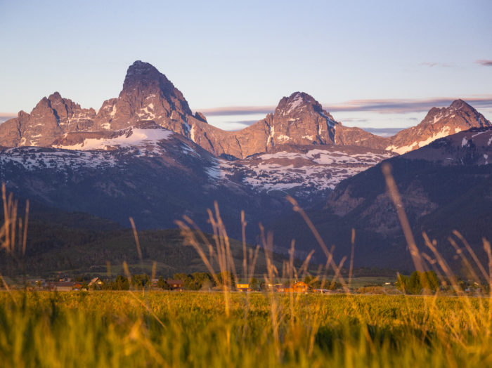 Teton Valley, Near Driggs. Photo Credit: Idaho Tourism.