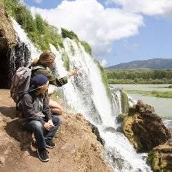 Fall Creek Falls, Swan Valley. Photo Credit: Idaho Tourism.