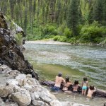 Pine Flats Hot Springs, Near Lowman. Photo Credit: Idaho Tourism.