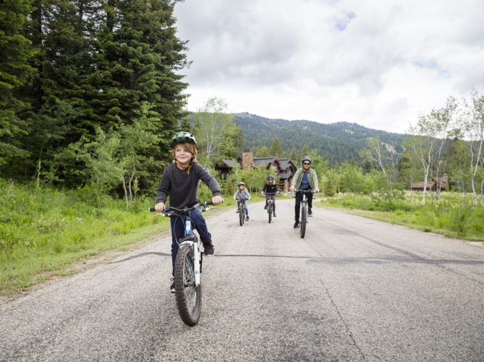 Mountain Biking, Tamarack Resort. Photo Credit: Idaho Tourism.