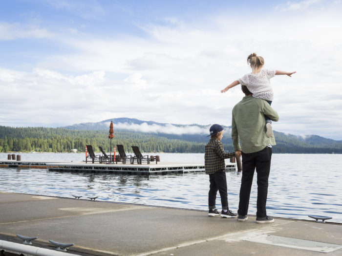 Shore Lodge, Payette Lake, McCall. Photo Credit: Idaho Tourism.