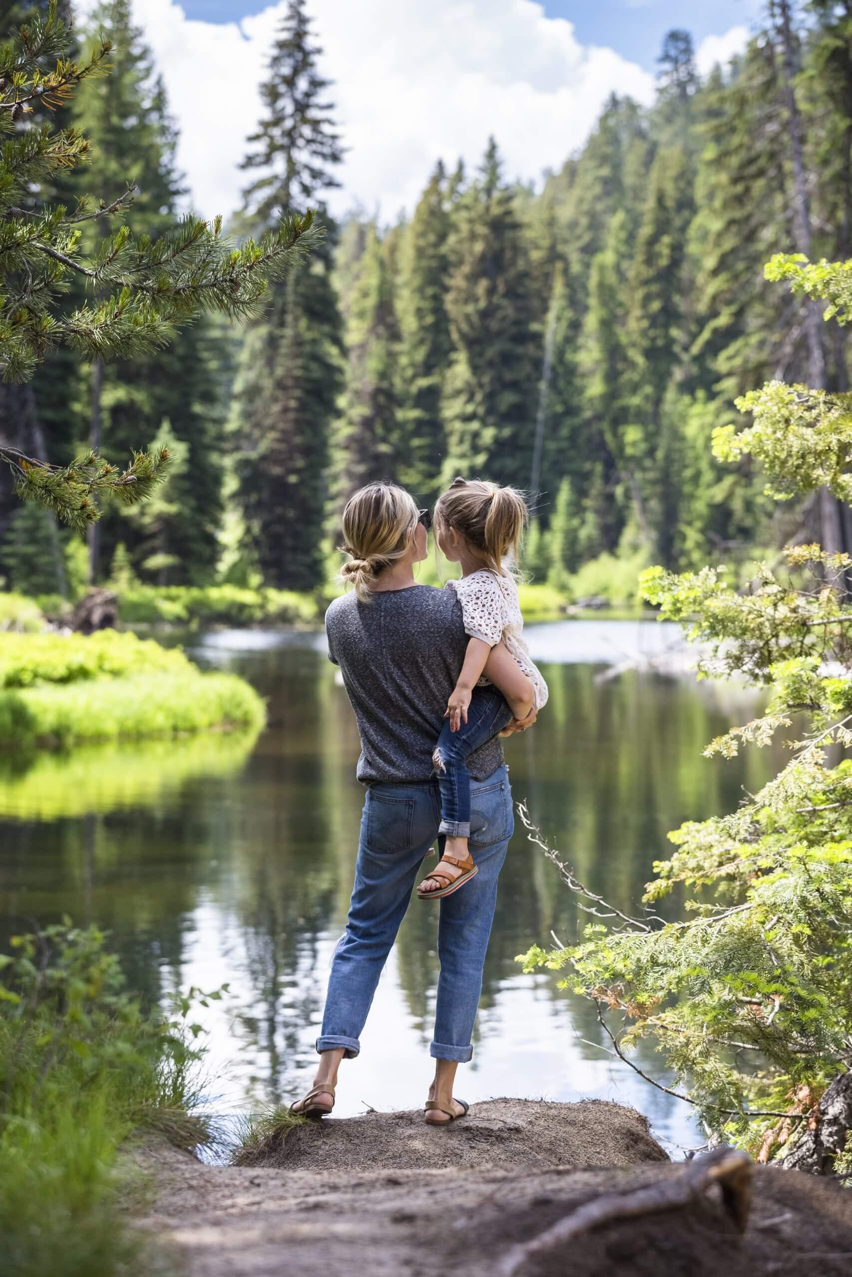 Camping, Payette Lake, Near McCall. Photo Credit: Idaho Tourism.