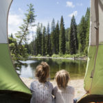Camping, Payette Lake, Near McCall. Photo Credit: Idaho Tourism.