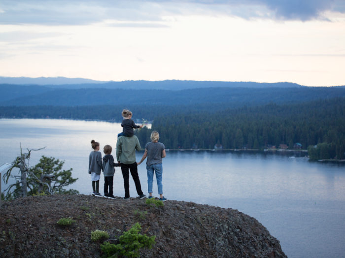 Osprey Point, Ponderosa State Park, McCall. Photo Credit: Idaho Tourism.