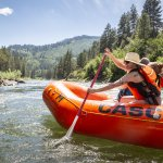 Rafting, Payette River, Near Banks. Photo Credit: Idaho Tourism.