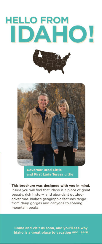 Hello From Idaho Children's Brochure