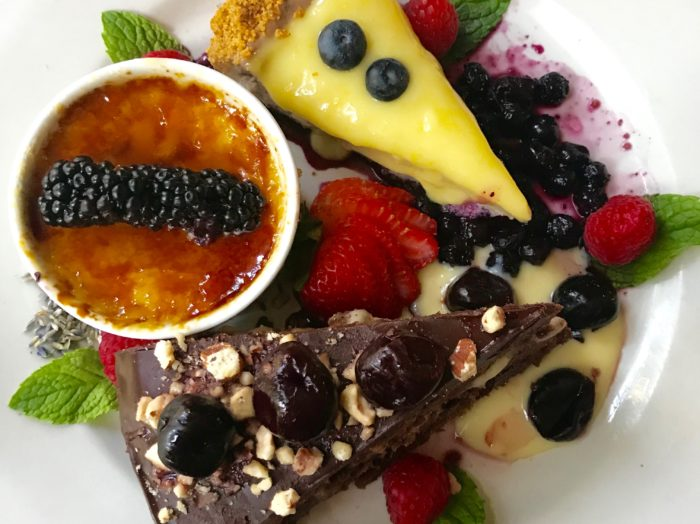 Dive in to dessert. Photo Credit: Lindy Callahan.