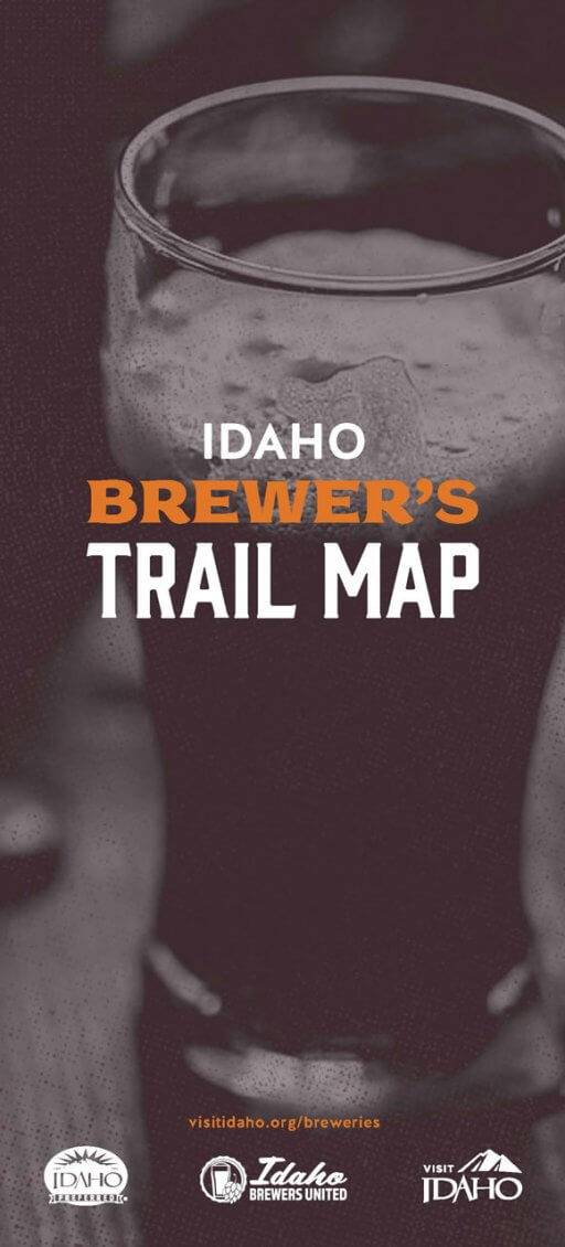 Idaho Brewers Trail Map Brochure Cover