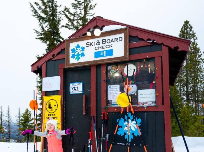 Preparing to take on the slopes. Photo Credit: Jade Broadus.
