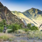 Hiking Hells Canyon near Sheep Creek Ranch. Photo Credit: Idaho Tourism.