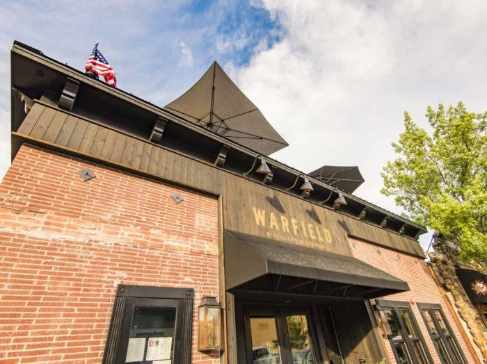 Warfield Distillery & Brewery, Ketchum. Photo Credit: Idaho Tourism.