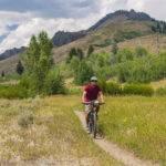 Mountain biking, Ketchum.  Photo Credit: Idaho Tourism.