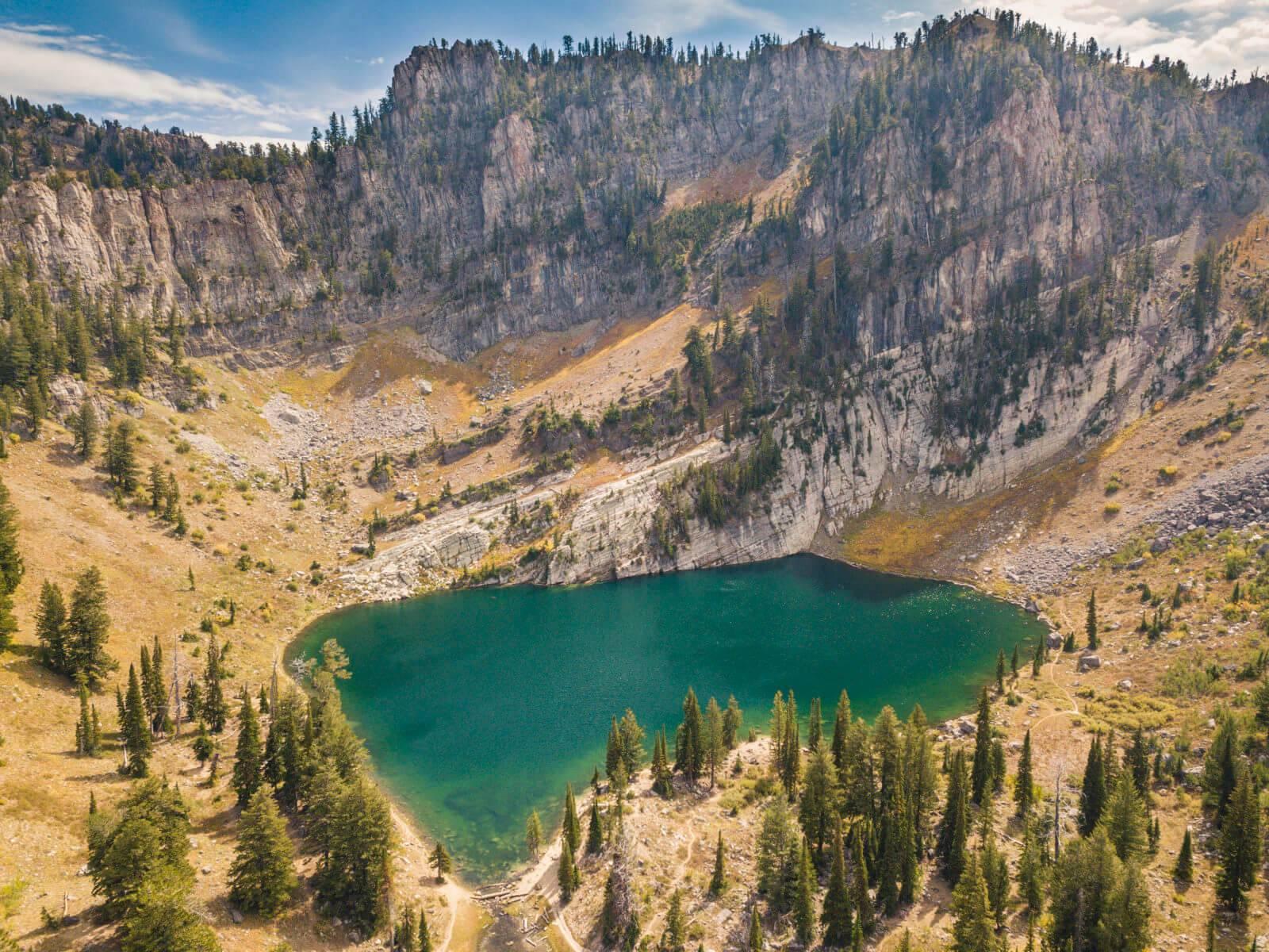 Bloomington Lake, near Bloomington. Photo Credit: Idaho Tourism.