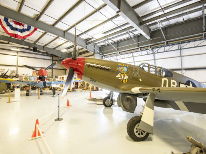 Warhawk Air Museum, Nampa. Photo Credit: Idaho Tourism.