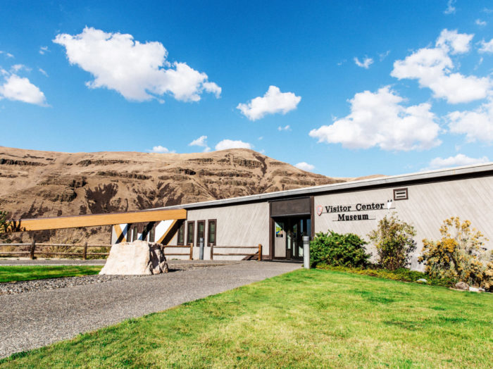 Nez Perce National Historical Park Visitor Center, Spalding. Photo Credit: Idaho Tourism.