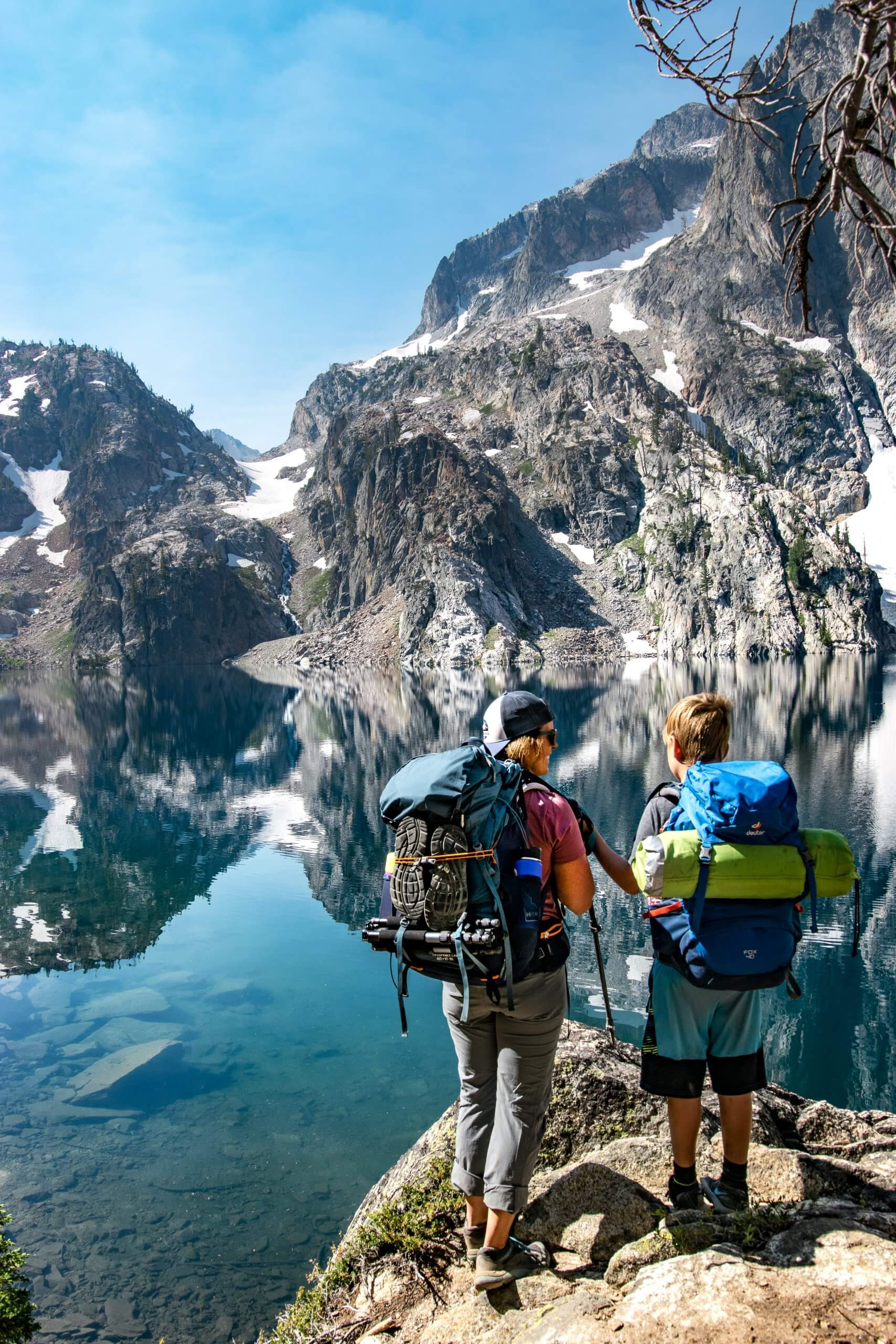Goat Lake is an adventure to access. Photo Credit: Christina McEvoy.