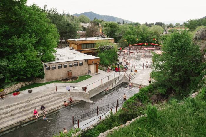 outdoor hot spring