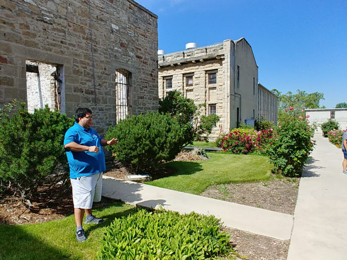 For more historical facts, take one of the guided tours. Photo Credit: Lara Dunning.
