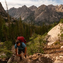 Make the hike to Saddleback Lakes. Photo Credit: Rolling Van Creative.