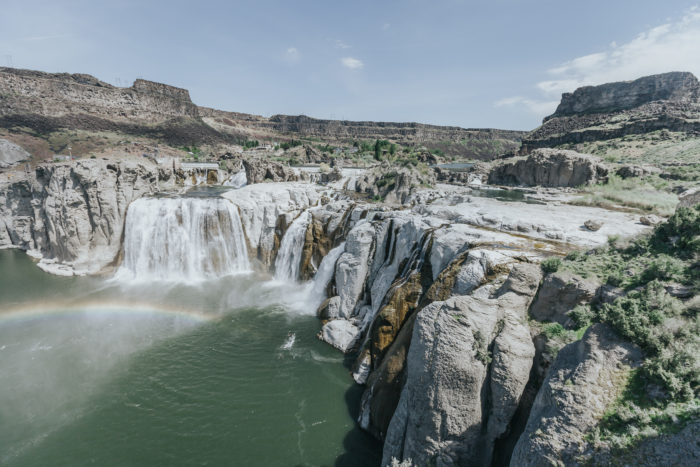 shoshone falls waterfall