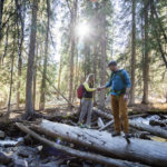 Hiking, near Stanley. Photo Credit: Idaho Tourism.