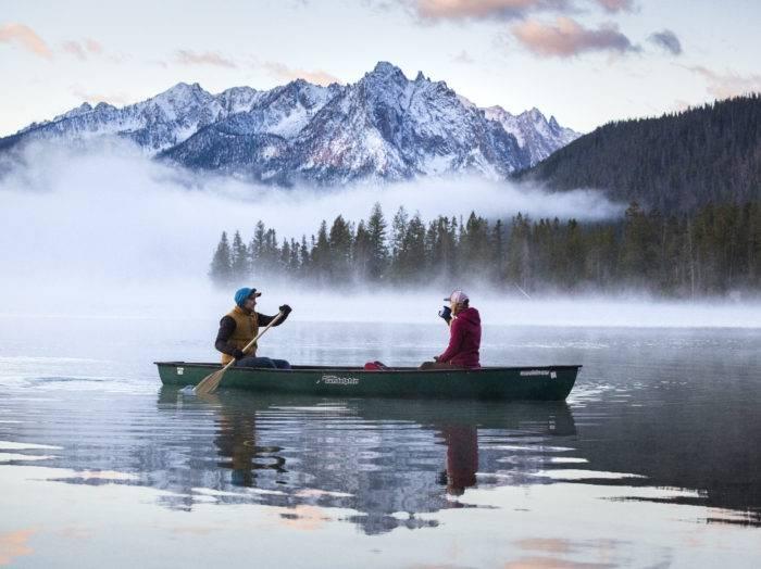 Redfish Lake, Stanley. Photo Credit: Idaho Tourism.