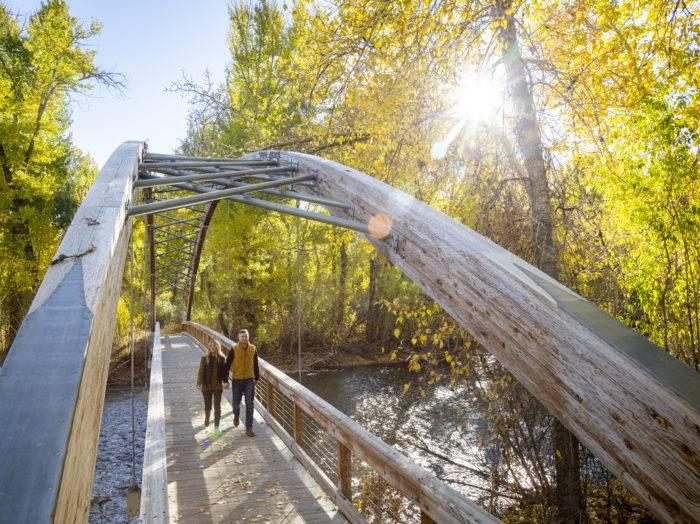 Bow Bridge, Hailey. Photo Credit: Idaho Tourism.
