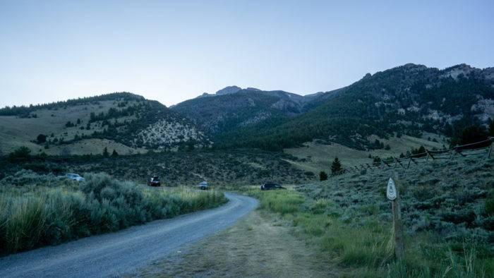 mount borah camping site