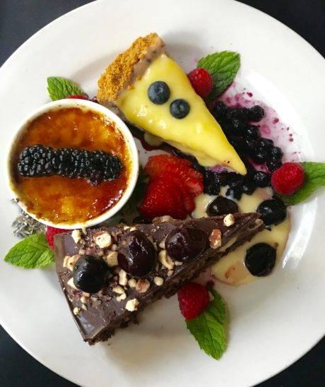 portneuf grille dessert plate