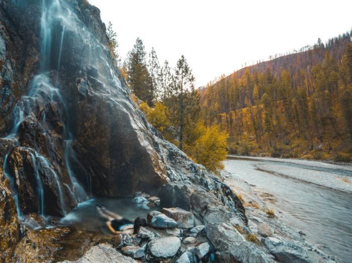 The perfect fall soak. Photo Credit: Rolling Van Creative.
