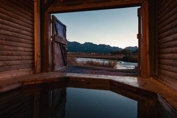 mountain village hot spring