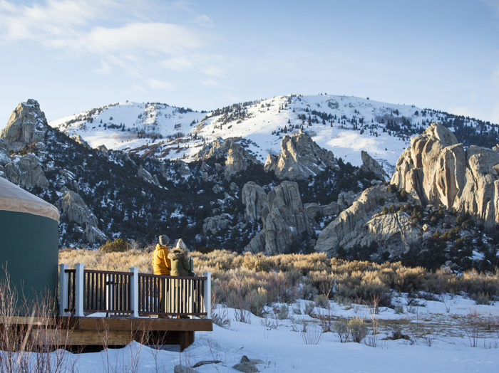 Morning views at Castle Rocks State Park. Photo Credit: Idaho Tourism.