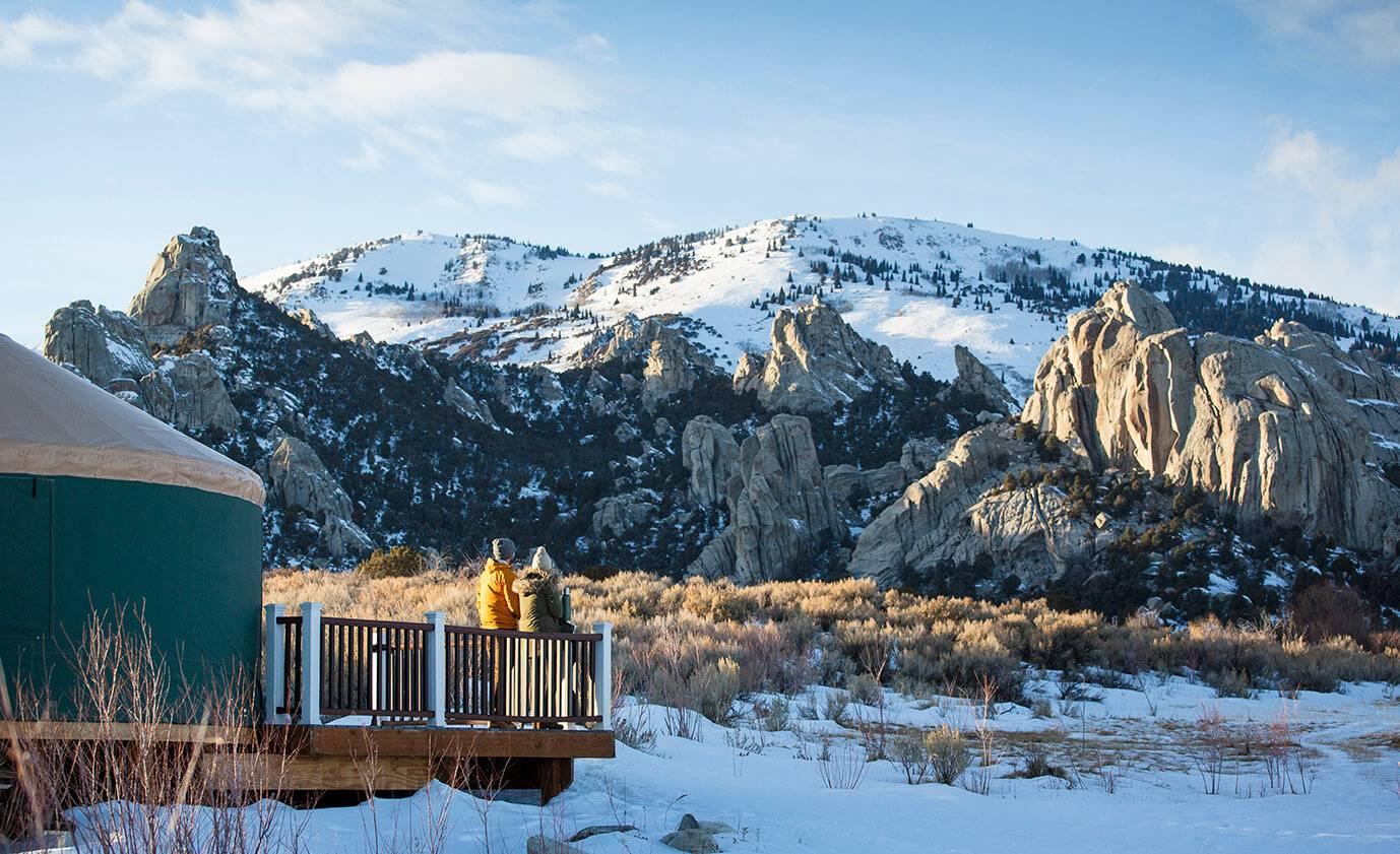 Morning views at Castle Rocks State Park. Photo Credit: Idaho Tourism.