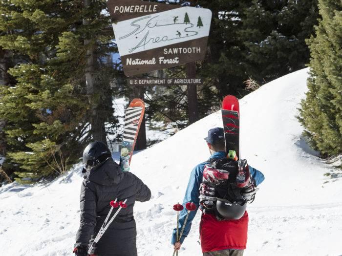 Pomerelle Mountain Resort. Photo Credit: Idaho Tourism.