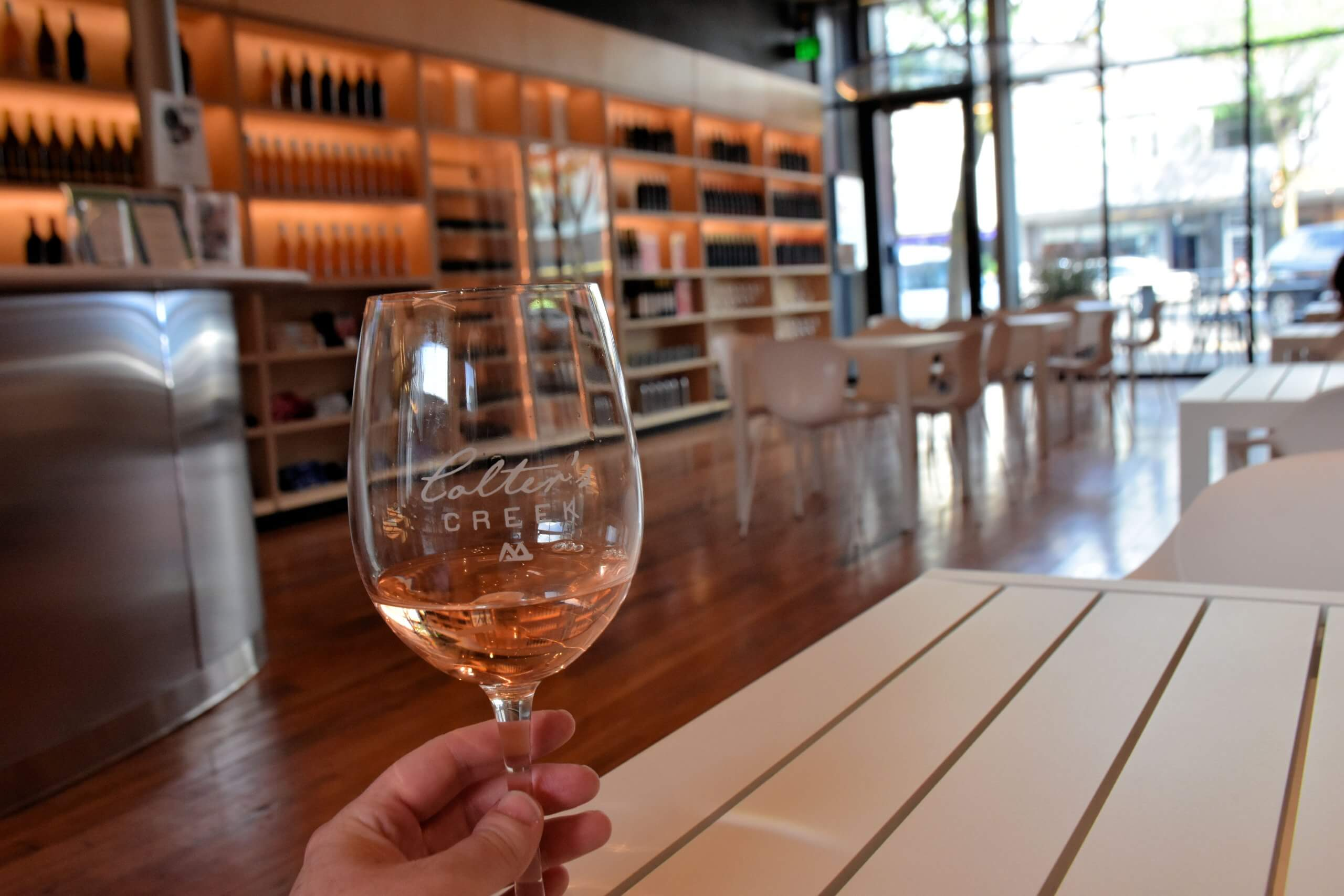 Check out the tasting room in Moscow. Photo Credit: Lara Dunning.
