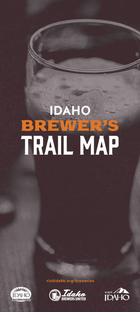 Idaho Brewer's Trail Map