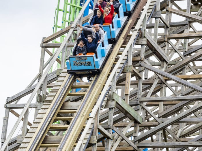 Experience the thrills of Silverwood Theme Park, the Pacific Northwest's largest theme park. Photo Credit: Idaho Tourism.